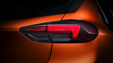 Vauxhall Corsa-e - rear lamp