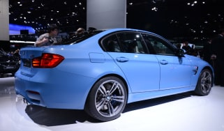 BMW M3 and M4 at the Detroit motor show