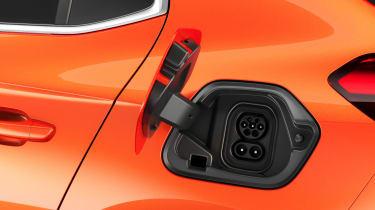 Vauxhall Corsa-e - plug
