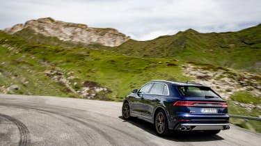 Audi SQ8 TDI review - rear