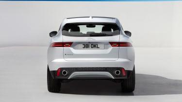 Jaguar E-Pace - white static rear