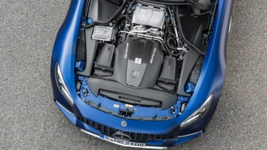 Mercedes-AMG GT C engine