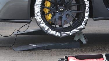 Hennessey Venom GT tyre warmers