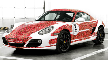 Porsche Cayman S Facebook edition