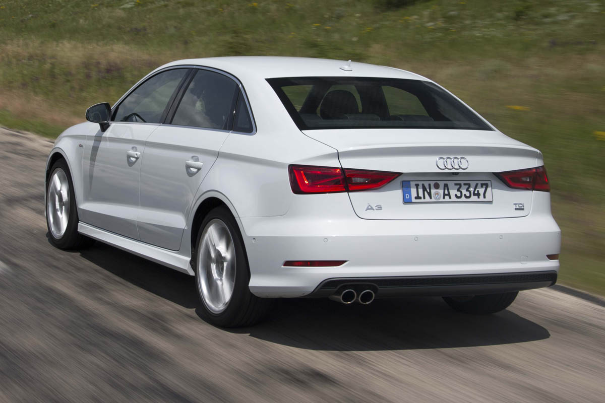 Audi A3 Saloon 2 0 Tdi Review Price Specs And 0 60 Time Evo