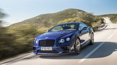 Bentley Continental Supersports - front tracking