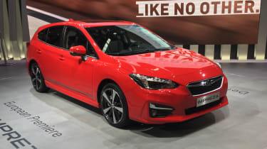 Subaru Impreza Hatch live - front
