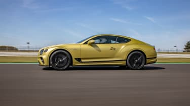 Bentley Continental GT Speed UK – side tracking