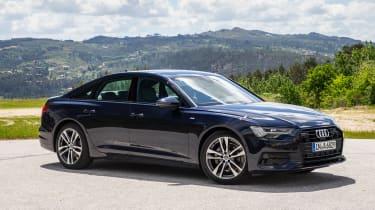 2018 Audi A6 - front quarter
