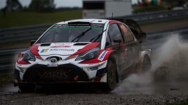 WRC round 9 - Rally Poland Toyota