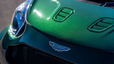 Aston Martin Cygnet V8 - bonnet