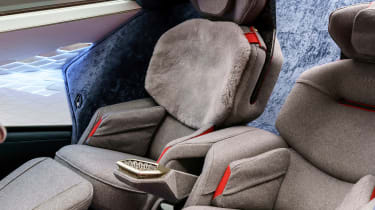Aston Martin Lagonda Concept – seats