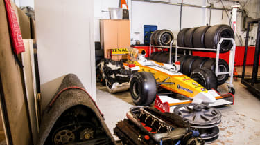 Used Formula 1 cars front
