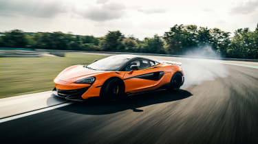McLaren 600LT first drive - slide