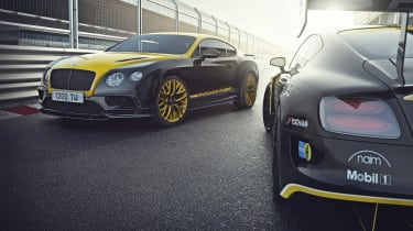 Bentley 'Continental 24' Supersport - front yellow