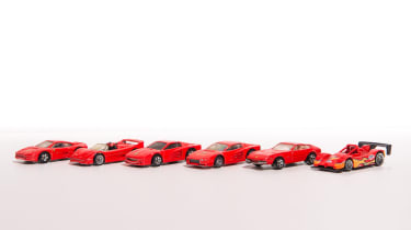 50 Years of Hot Wheels - ferraris