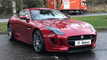 Used car deals F-type
