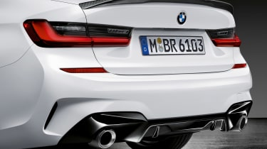 BMW 3-series G20 M Performance parts - rear