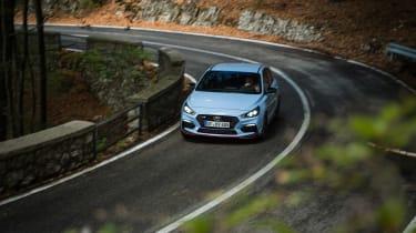 Hyundai i30 N  - front driving
