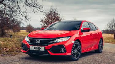 Honda Civic review - front tracking