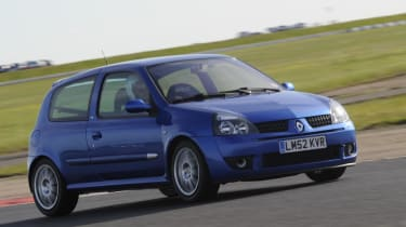 evo dunlop track competition Clio