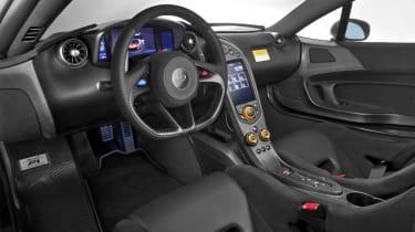 McLaren P1 MSO interior