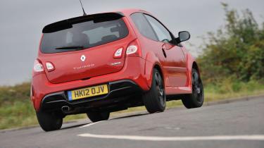 2012 Renaultsport Twingo 133 rear cornering