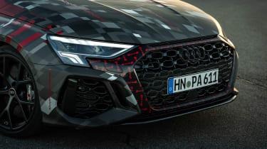 Audi RS3 mule 2020 SB – grilles