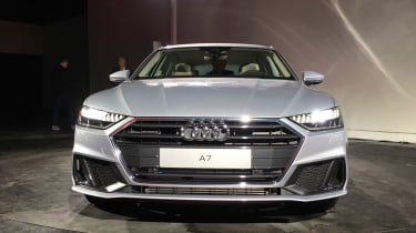 Audi A7 Sportback head on