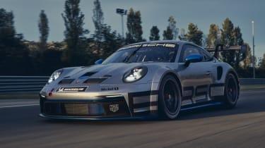 992 Porsche 911 GT3 Cup front