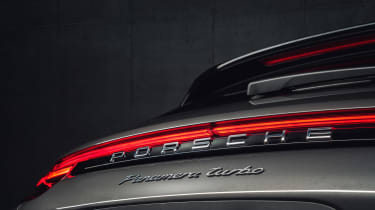 Porsche Panamera Sport Turismo rear detail