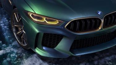 BMW M8 Concept - lights