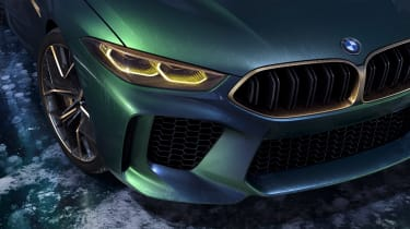 BMW M8 Concept - lights