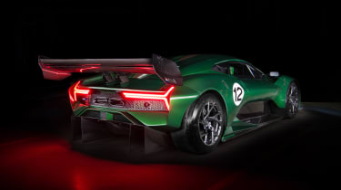 Brabham BT62 - rear quarter