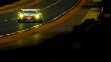Le Mans 2017 - 911 RSR mulsanne