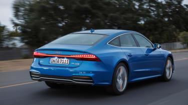 Audi A7 – rear quarter