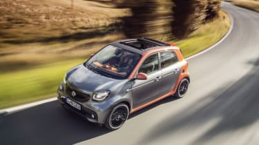 Smart Forfour grey orange