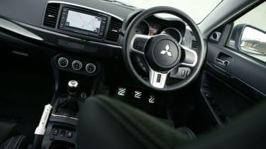 Mitsubishi Evo X FQ-360 interior
