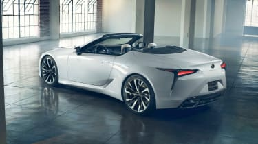 Lexus LC Convertible Concept rear