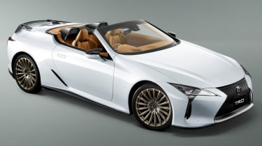 TRD mods Lexus LC500 Coupe and Convertible | evo