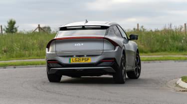 Kia EV6 GT-Line S – rear cornering