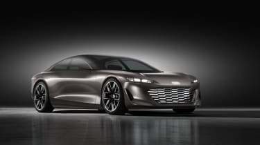 Audi Grand Sphere Concept – front quarter