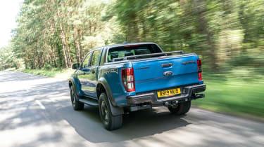 Ford Ranger Raptor UK - down