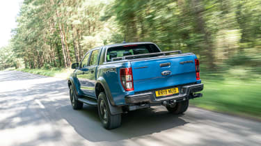 Ford Ranger Raptor UK - down