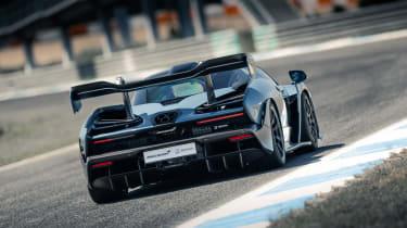 McLaren Senna track rear