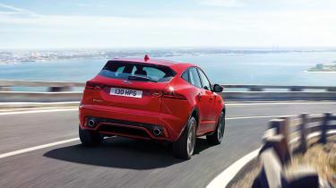 Jaguar E-Pace - driving rear 4
