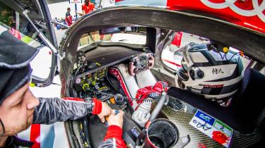FIA WEC Shanghai Audi R18 e-tron cockpit
