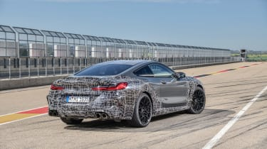 BMW M8 Competition prototype - rear