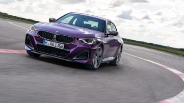 BMW 2-series 2021 – nose tracking