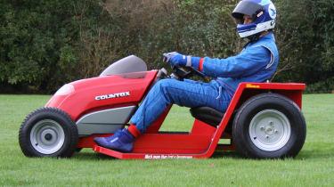 Lawnmower Land Speed Record